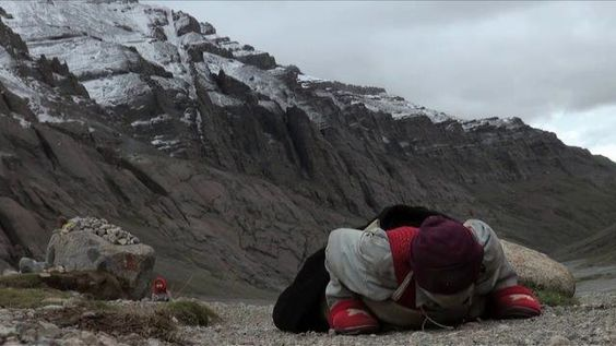 """VOICES OF WOMEN WORLDWIDE at http://voicesofwomenworldwide-vowwtv.ning.com shares this video clip filmed in Tibet titled """"La Montagne Magique""""  ... Enjoy ..."""