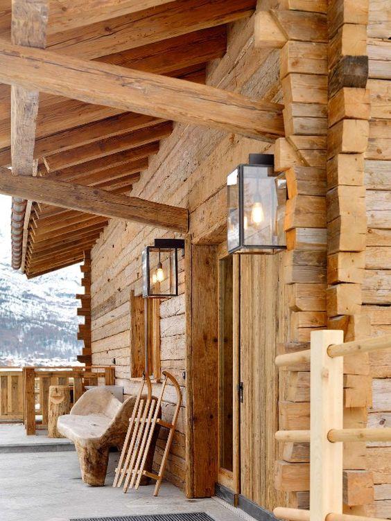 Chalet à Zermatt en Suisse #vacances #montagne #ski
