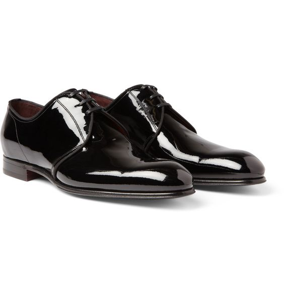 PRODUCT - Dolce & Gabbana - Patent-Leather Derby Shoes - 363207|MR PORTER