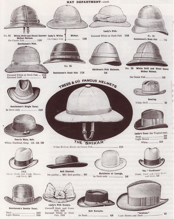 """[TMP] """"What an 'authentic' VSF adventuress should look like"""" my kinda hats!<3"""