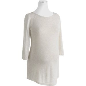 Faded Glory Maternity Classic Boatneck Knit Top $9.94 XXL