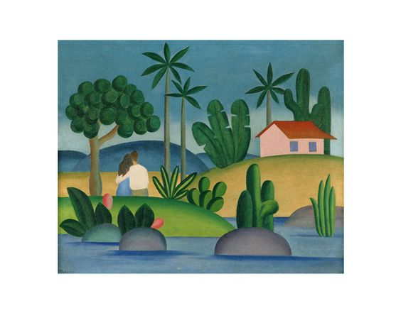 IDÍLIO (1929) - Tarsila do Amaral