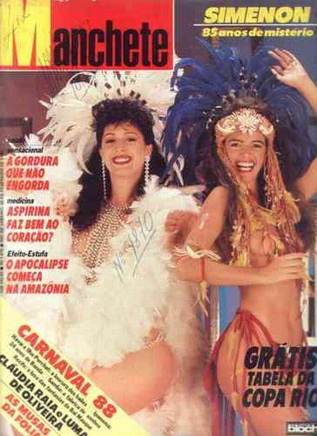 a revista top dos anos 80 era sem duvida a manchete #anos80 ...