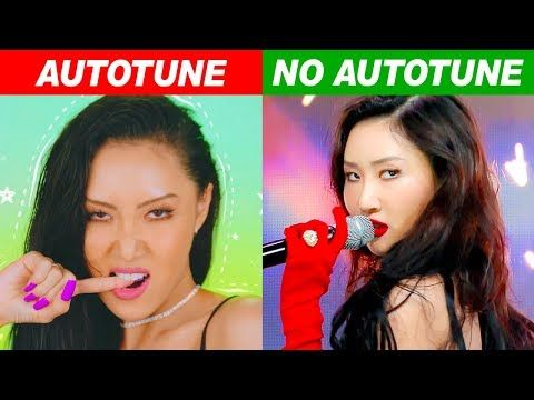 Kpop Idols Autotune Vs No Autotune Mv Vs Live Part 4 Youtube Woollim Entertainment Kpop Idol Kpop