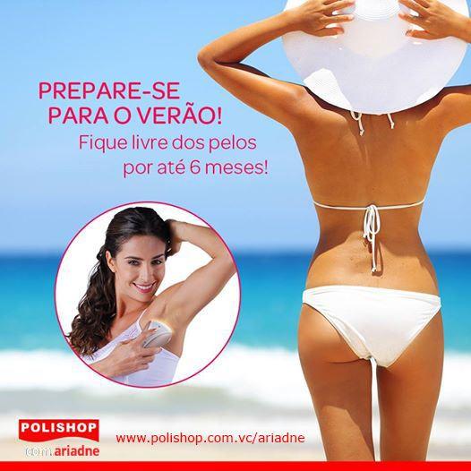 DEPILADOR LUZ PULSADA I-LIGHT PRO REMINGTON Use o I-Light Pro para curtir o verão! O resultado é uma pele completamente lisa por muito mais tempo! www.polishop.com.vc/ariadne