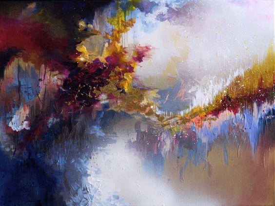 Artista com sinestesia pinta quadros a partir de suas músicas favoritas (FOTOS)