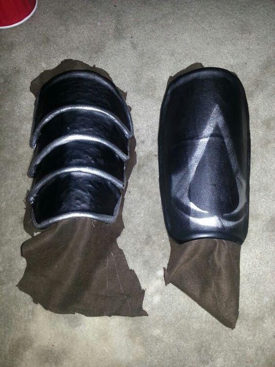 Wrist armor home made