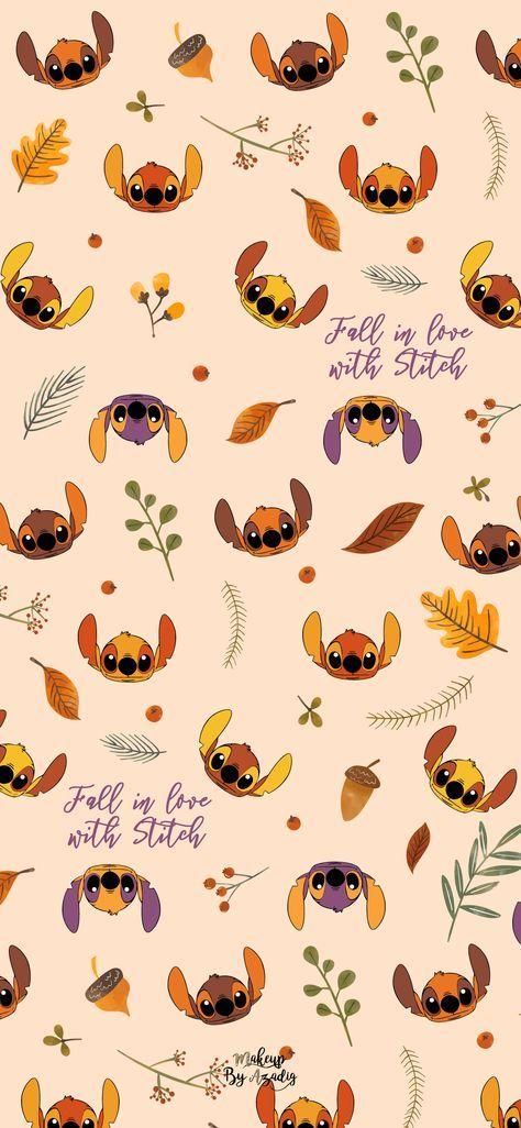 8 Fond D Ecran Disney Stitch Fall Wallpaper Makeupbyazadig In 2020 Wallpaper Iphone Disney Stitch Disney Iphone Wallpaper Fall