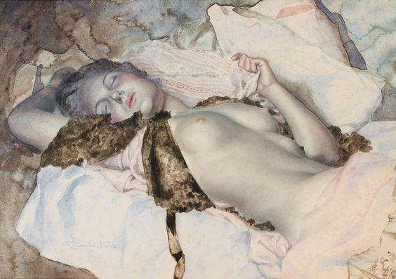 """""""Además es tan patético ser bueno, corres el riesgo de volverte diestro"""" P. Sorrentino, La grande belleza (2013) L. Chitovsky, Nu allónge (S.F.), disponible en:"""
