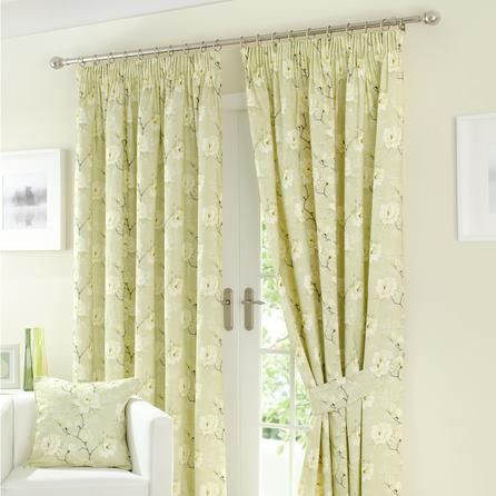 Green Milan Curtain Collection Online Dunelm Mill This Pair