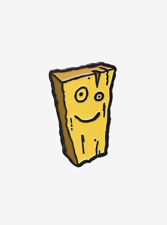 Ed Edd N Eddy Plank Enamel Pin Ed Edd N Eddy Edd Ed Edd