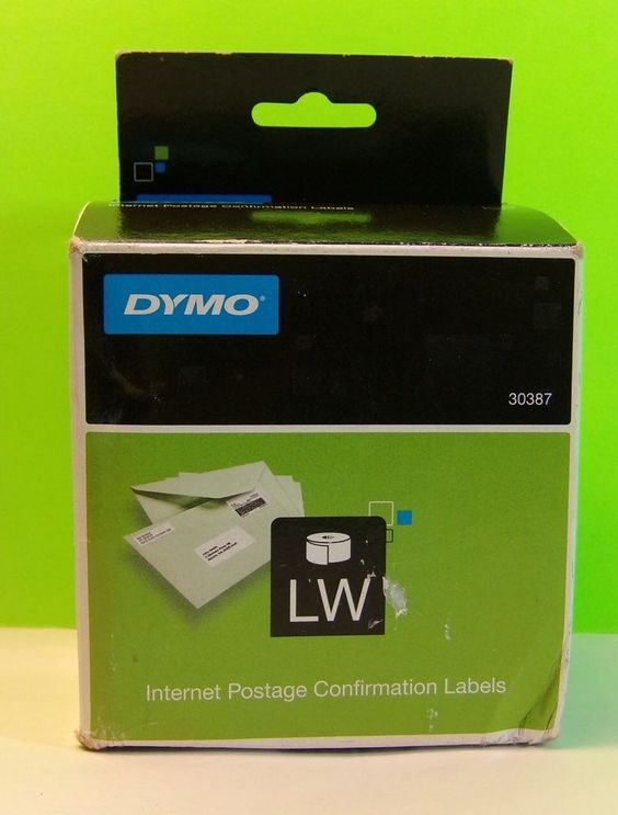 Dymo 30387 LabelWriter Internet Postage Confirmation Labels New 100 Labels | eBay