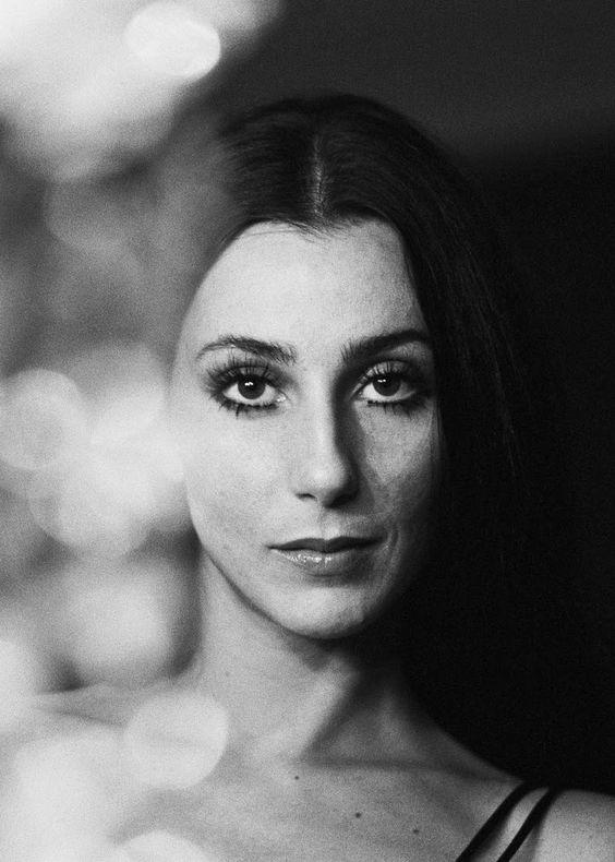 Cher- love her and her amazing cheekbones!