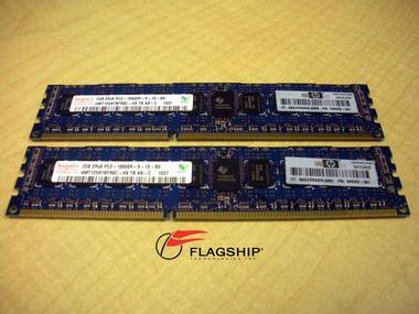 HP AM229A 4GB (2 X 2GB) PC3-10600R-9 MEM KIT