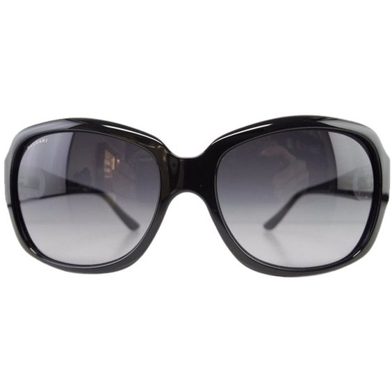 Pre-owned New Bvlgari Sunglasses 8110-b 901/8g Black Gradient Acetate... (255 CAD) ❤ liked on Polyvore featuring accessories, eyewear, sunglasses, black gradient, black eyewear, bulgari, acetate sunglasses, acetate glasses and gradient glasses