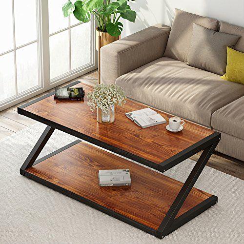 Rustic Coffee Table Little Tree 48 Large Rectangular Wood