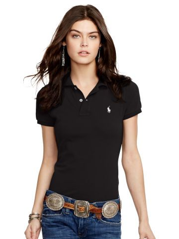 Skinny-Fit Polo Shirt - Create Your Own Short Sleeve - Ralph Lauren UK