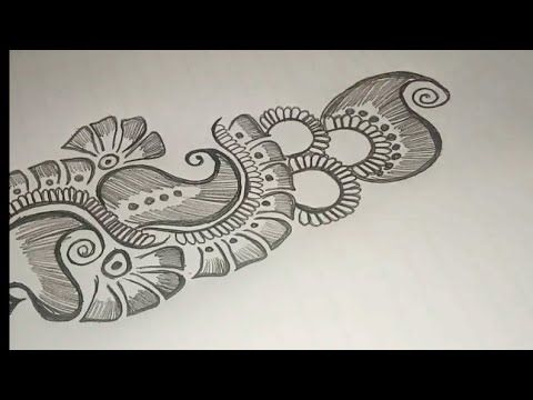 Arabic Mehndi Design On Paper Mehndi Design With Pencil On Paper Easy Mehndi Design Youtube Mehndi Youtube Just in case you love henna tattoos as well and feel like you could also use some design inspiration, here are 15 of the prettiest patterns and most helpful tutorials we've come across so far! arabic mehndi design on paper mehndi