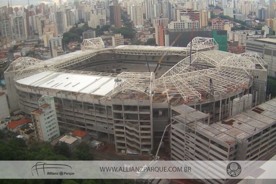 Obras do Allianz Parque