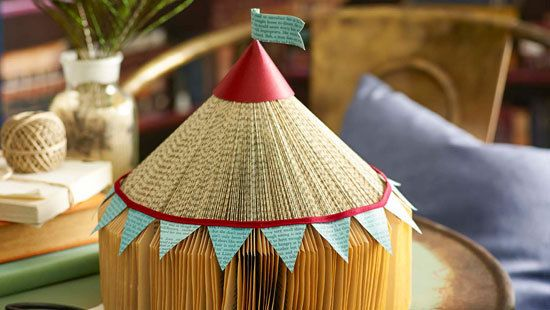 How to make a folded paper big top