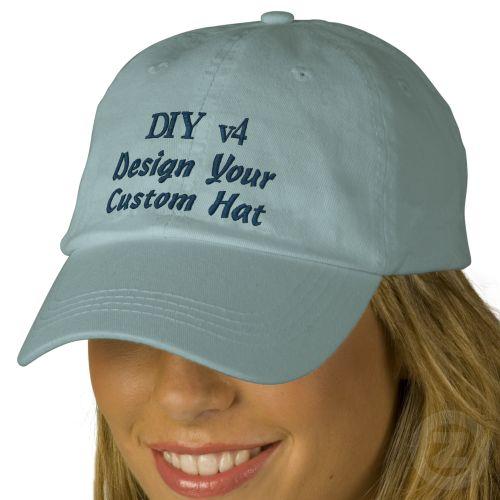 diy design your own custom baseball hat v04a baseball cap