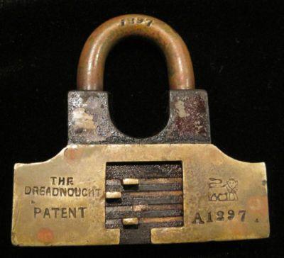 Padlock Dreadnought Walsall Anglo American Lock