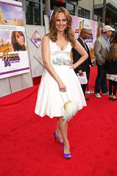 "Melora Hardin - Premiere Of Walt Disney Pictures' ""Hannah Montana The Movie"" - After Party"