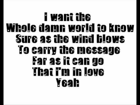 Lionel Richie - I'm In Love ♪♫Lyrics♫♪