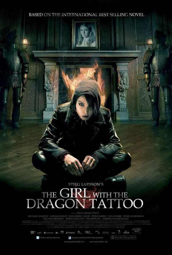 No need for an English version. Noomie Repace is brilliant. Watch the whole trilogy-- in Swedish!: Movies Tv, Foreign Film, Noomi Rapace, Swedish Version, Dragon Tattoos, Favorite Movies, Movie Poster, American Version