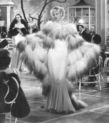 Lucille Bal, Roberta, 1934 (gown by Bernard Newman)