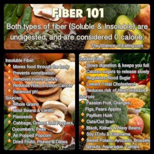 low carb diet soluble fiber