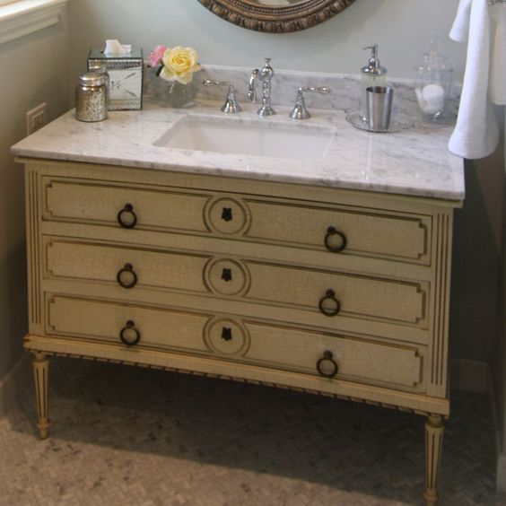 Convert A Dresser Or Vintage Desk Into