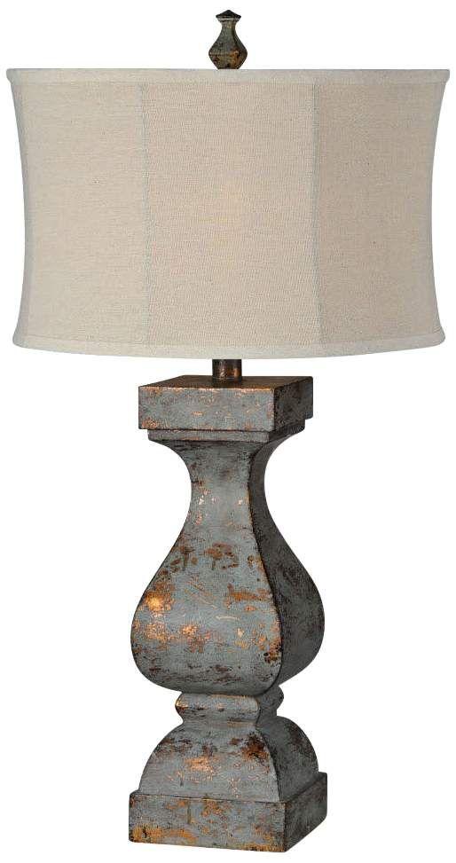 Rustic Table Lamps, Cooper Ridge Lamps