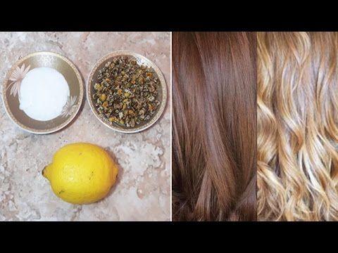 ضعيها على شعرك واحصلي على لون بني أشقر بمكونات طبيعية بدون أكسجين و صبغا Beauty Hacks Beauty Hair Styles