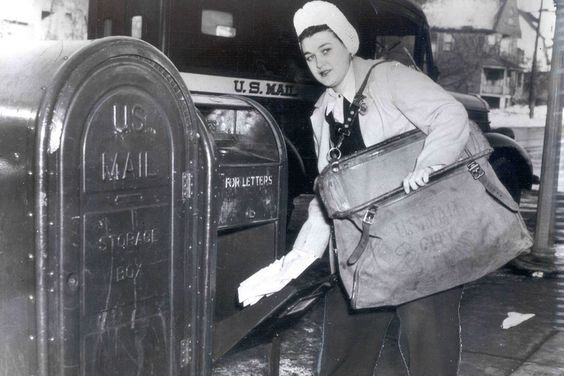 She delivers | USPS News Link  November marks the 100th anniversary of female letter carriers in cities. Here are 6 fact's about women's contributions to mail delivery.