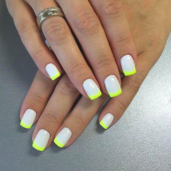 Over 50 Bright Summer Nail Art Designs That Will Be So Trendy All Season Ecemella Square Nail Designs Nail Art Summer Square Nails