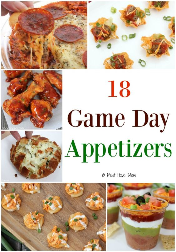 18 Game Day Appetizers Football Super Bowl And Recipes For