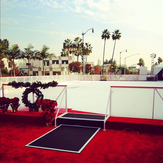 Beverly Hills Ice Skating Rink