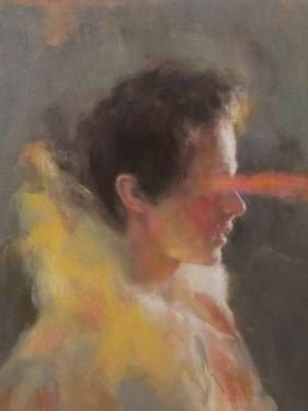 """Saatchi Art Artist Anna Madia; Painting, """"Heathcliff """" #art"""