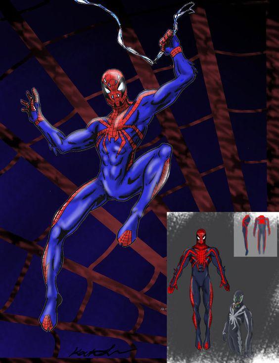 Spider Final by Chezpizza.deviantart.com on @DeviantArt