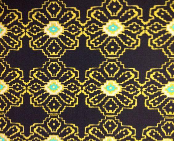 SALETy PenningtonCollisionBlack100 cotton by FancifulFabrics, $7.00