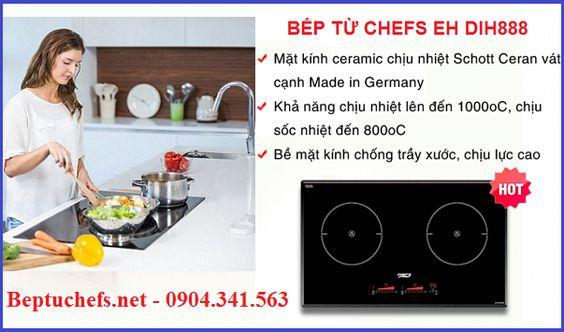 Những ưu điểm nổi bật trên bếp từ Chefs EH DIH888