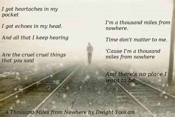 Dwight Yoakam - A Thousand Miles From Nowhere - YouTube