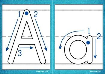 Playdough Mats - Alphabet with Correct Letter Formation | Pinterest ...