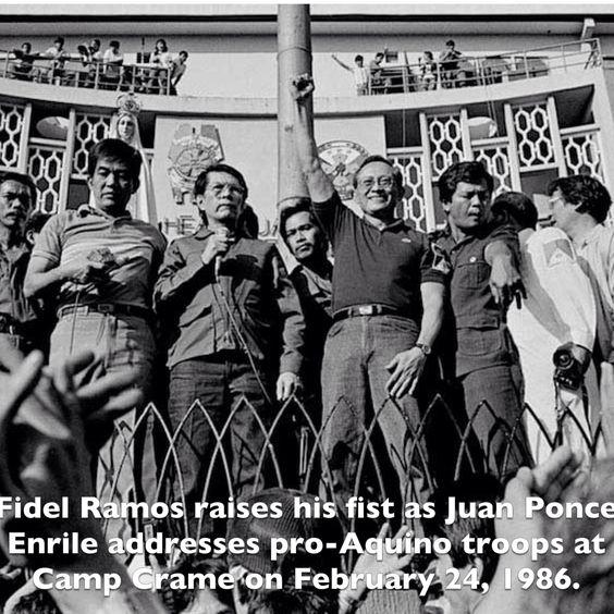 Filipino People Power Revolution