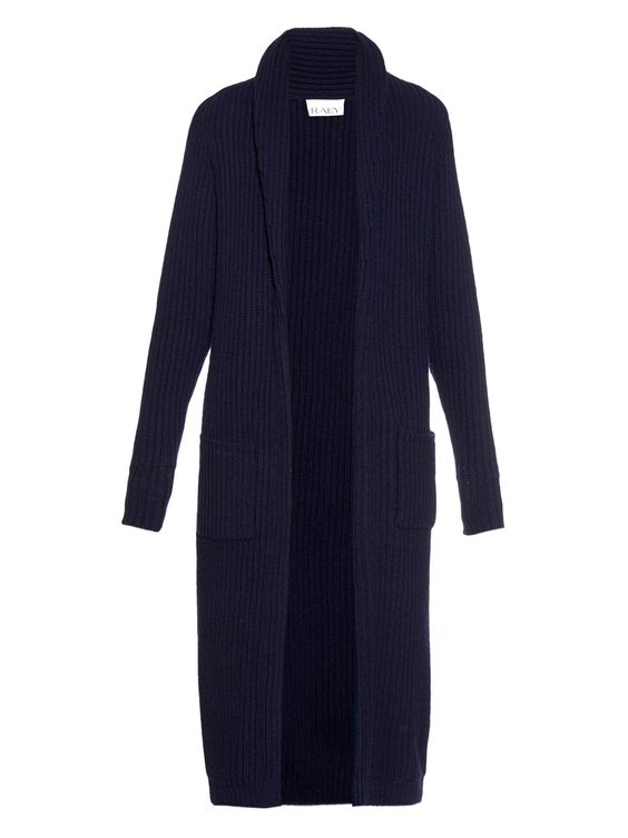 Chunky ribbed-knit wool-blend cardigan | Raey | MATCHESFASHION.COM US