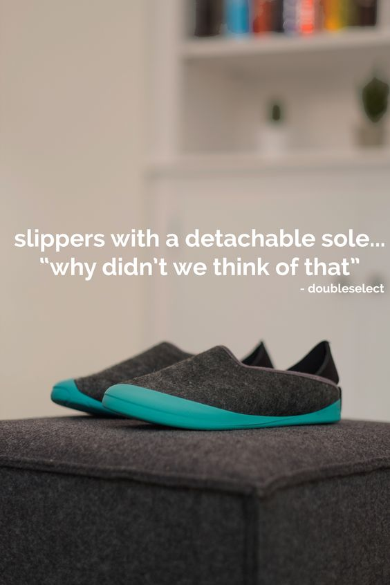 "mahabis sole // with its timeless aesthetic and removable sole, the result has most of us thinking ""why didn't we think of that"" - quote: doubleselect"