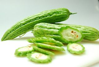 Bittermelon or Ampalaya, acquired taste but rich in vitamins.  Very good for diabetics too.