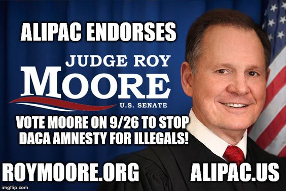 e3d823673274f6e24eaa0fc21337a633 special election today take action to help roy moore defeat daca