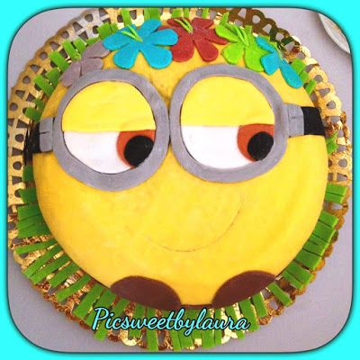 PIC SWEET by Laura: PASTEL MINION HAWAIANO